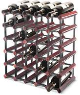 Final Touch 30-Bottle Assembled Wine Rack (30, )