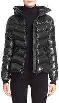 Moncler 'Anthia' Water Resistant Shiny Nylon Hooded Down Puffer Jacket