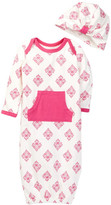 Jessica Simpson Coverall & Hat Set (Baby Girls)