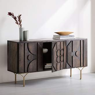 west elm Pictograph Buffet - Carbon