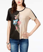 GUESS Colorblocked Graphic T-Shirt