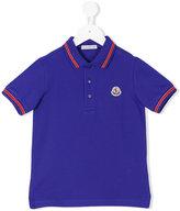 Moncler classic logo polo shirt - kids - Cotton - 14 yrs