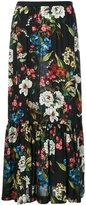 I'M Isola Marras long floral print skirt