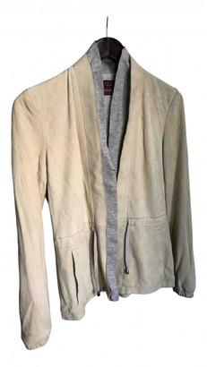 Fabiana Filippi White Leather Jackets
