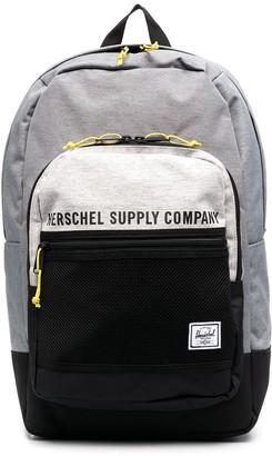 Herschel Colour Block Logo Print Backpack