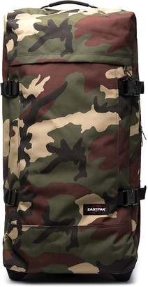 Eastpak Camouflage-Print Zip-Up Holdall