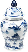 AA Importing 18 Lavieille Ginger Jar, Blue/White