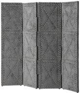 Eichholtz Duchamp Folding Screen Small - Grey Velvet