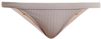 Made by Dawn Traveler Ribbed Bikini Briefs - Womens - Light Grey