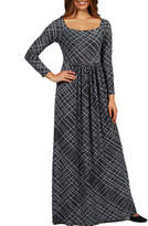 WORTH 24/7 Comfort Apparel Cocktails in Tahoe Maxi Dress