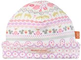 Magnificent Baby Pink Fair Isle Reversible Hat (Baby) - Pink - One Size