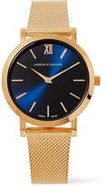 Larsson & Jennings Lugano Solaris Gold-plated Watch