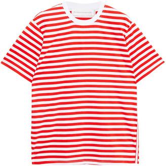 Victoria Victoria Beckham Striped Cotton-jersey T-shirt
