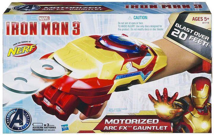 Iron Man Marvel 3 motorized arc fx gauntlet by hasbro