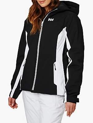Helly Hansen Majestic Warm Women's Waterproof Ski Jacket, Black