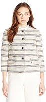 Kasper Women's Tweed 4 Button Jacket