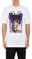 Y-3 Men's Alien-Graphic Jersey T-Shirt-White