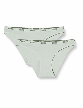 Puma Women's Iconic Women's (2 Pack) Bikini style underwear