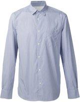 Officine Generale fine stripe shirt