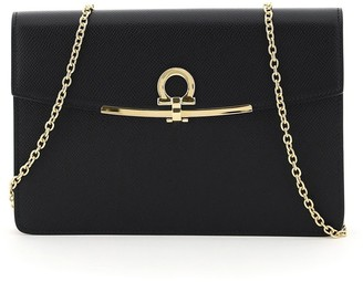 Salvatore Ferragamo Gancini Mini Clutch Bag