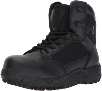 Under Armour Women's Stellar Protect Military and Tactical Boot Black (001)/Black 11