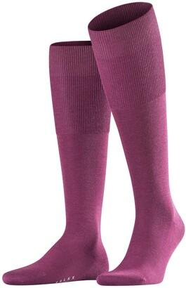Falke Men Airport Knee-Highs - Merino Wool/Cotton Blend