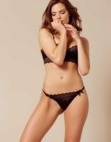 Agent Provocateur Stone Thong Black