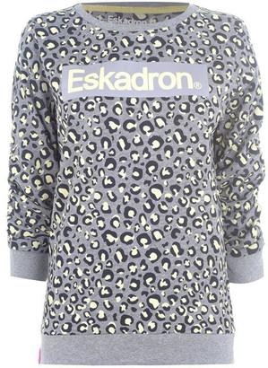 Eskadron Leopard Print Sweater