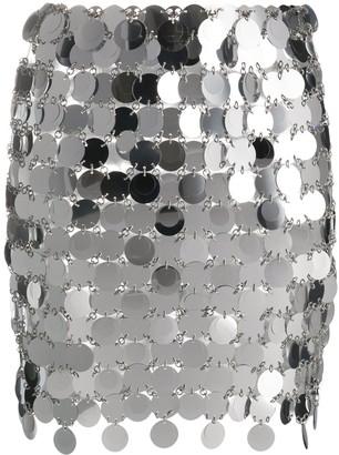 Paco Rabanne Mirror Disc Skirt
