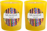 Qualitas Candles Daffodil Beeswax Candles (Set of 2) (6.5 OZ)