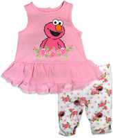 Sesame Street 2-pc. Legging Set-Baby Girls