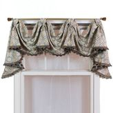 Bed Bath & Beyond RL Fisher Churchill 3-Scoop Victory Window Curtain Swag Valance in Beige