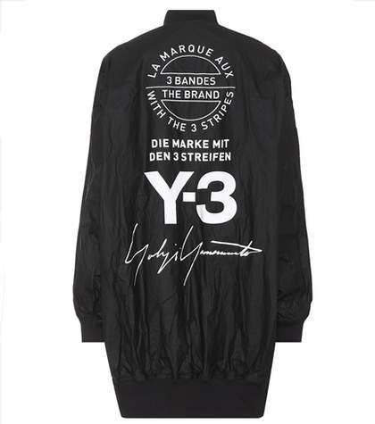 Y-3 Reversible printed bomber jacket