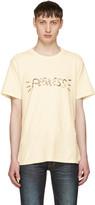 Visvim Off-white peerless T-shirt