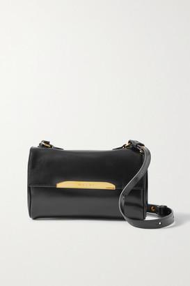 Marni Corinne Mini Leather Shoulder Bag - Black