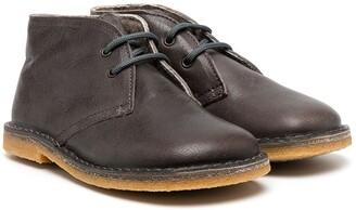 Pépé Square Toe Ankle Boots