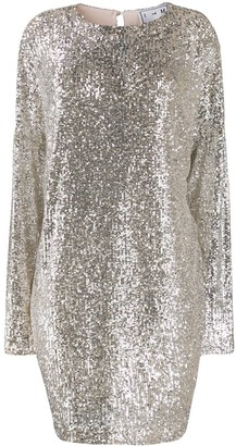 In The Mood For Love sequinned shift dress