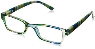 Peepers Unisex-Adult Mix & Mingle 286175 Rectangular Reading Glasses