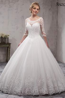 Mary's Bridal Bridal Wedding Gown In Ivory