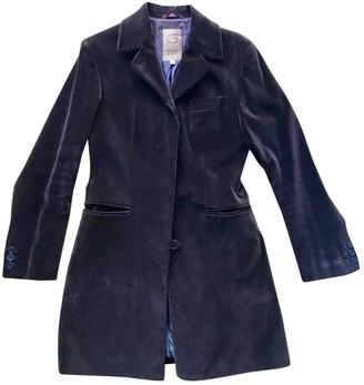 Romeo Gigli Brown Velvet Jacket for Women