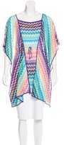 Missoni Knit Short Sleeve Cover-Up