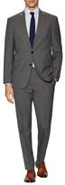 Kenneth Cole New York Birdseye Wool Notch Lapel Suit