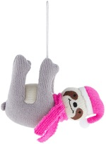 Accessorize Knitted Sloth Decoration