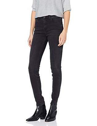 Esprit Women's 037EE1B020 Jeans, (Black Dark Wash 911), 27W x 32L