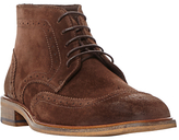 Bertie Canister Brogue Boots, Brown