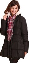 Sweet Mommy Reversible Maternity and Mother's Down Coat with baby wearing pouch BKBES