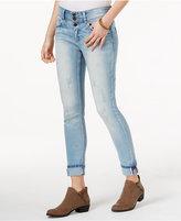 Indigo Rein Juniors' Cuffed Robin Wash Skinny Jeans