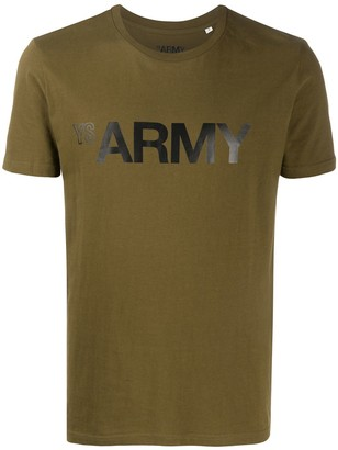 Army by Yves Salomon Army print T-shirt
