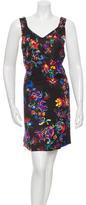 Maison Margiela Floral Mini Dress
