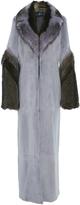 J. Mendel Mink Maxi Coat